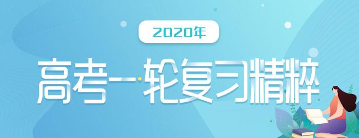 2020年高考jia)yi)輪復(fu)習精粹