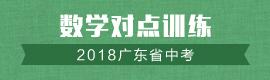2018广东省中考数学对点训练