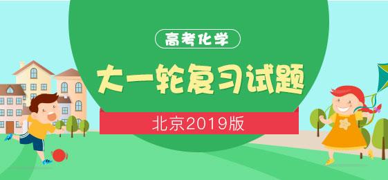 北京2019版高考化学大一轮复习试题