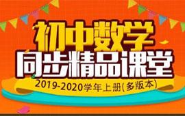 2019-2020学年初中數學上册同步精品课堂(多版本)