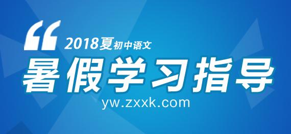 2018年夏季初中语文暑假学习指导