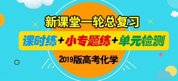 2019版高考化学新课堂一轮总复习(课时练+小专题练+单元检测)