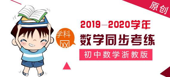 【原创精品】2019-2020学年浙江省初中数学同步考练大套装