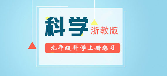 2018秋浙教版九年级科学上册练习