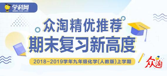 【众淘精优推荐】2018-2019学年九年级化学(人教版)上学期期末复习新高度