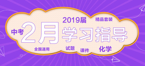 【新春快乐】2019届中考2月化学学习指导