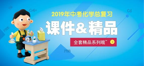 2019届中考化学总复习全套精品专题课件
