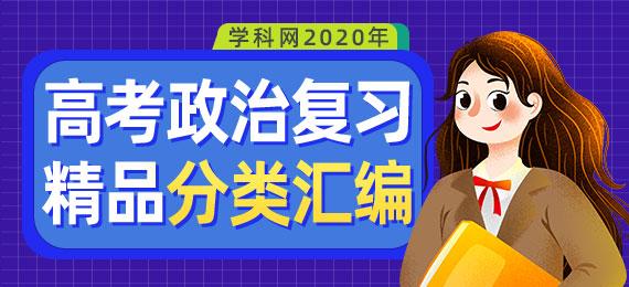 2020年高考政治复习精品分类汇编