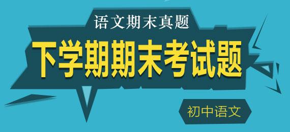历届(12-19年)初中钱柜网站下学期期末考试题回顾