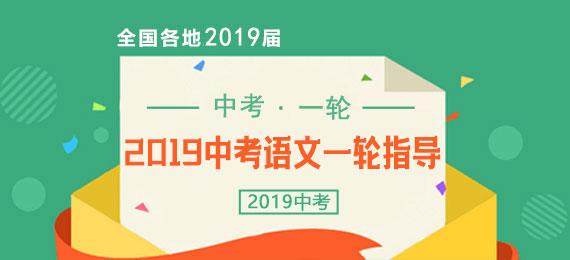 2019届中考语文一轮复习全指导